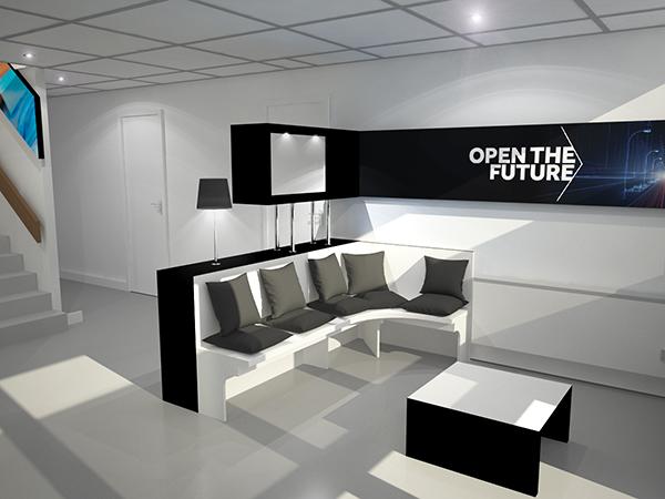 Smurfit kappa them 39 s concept mini showroom pessac for Salon etudiant bordeaux